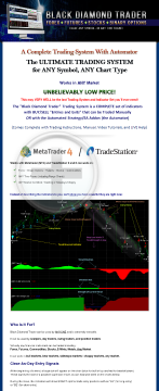 Black Diamond Trader - Ultimate Trading System For All Traders! preview. Click for more details