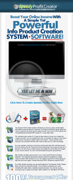 Brand New! Speedy Profit Creator ..::!!high Converting!!::.. preview. Click for more details