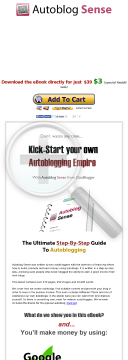 Build Your Own Autoblog Empire And Avoid The Panda Update preview. Click for more details