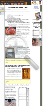 Build Your Own Barbecue Smoker preview. Click for more details