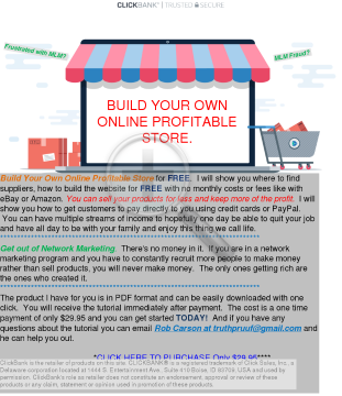 Build Your Own Online Profitable Store For Free preview. Click for more details