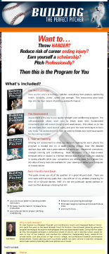 Building The Perfect Pitcher preview. Click for more details