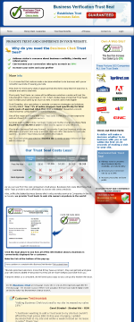 Businesschek Trust Seal preview. Click for more details