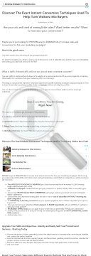 Buyer Conversion Mastery: Key Copywriting Elements preview. Click for more details