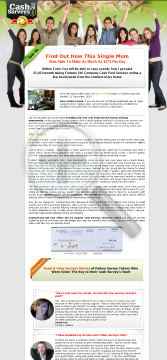 Cash Surveys.net - #1 Paid Surveys 2014 See Why! preview. Click for more details