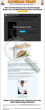 Caveman Feast: 210+ Paleo Recipes From Civilized Caveman Cooking preview. Click for more details