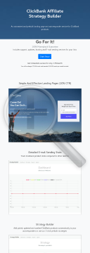 CB Affiliate Strategy Builder preview. Click for more details
