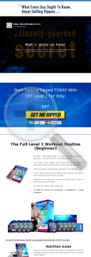 Cbt Blueprint - Get Ripped In 3 Phases preview. Click for more details