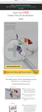 Chakra Tree Of Life Necklace preview. Click for more details