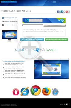Chat With Words - Turn Words Into Free Custom Chat Rooms preview. Click for more details