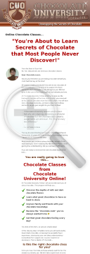 Chocolate University Online preview. Click for more details