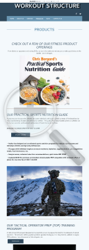 Chris Borgard's Practical Sports Nutrition Guide preview. Click for more details