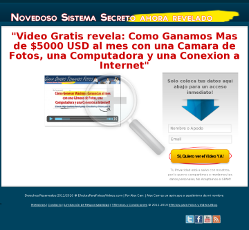 Como Ganar Mas De 5000 Usd Al Mes Tomando Fotos - 60% De Comision preview. Click for more details