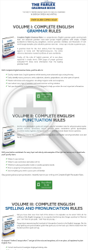 Complete English Grammar Rules - The Farlex Grammar Book preview. Click for more details