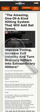 Complete Hitter preview. Click for more details