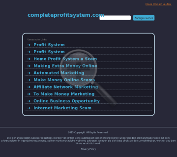 Complete Profit System | Push Button List & Profit Building preview. Click for more details