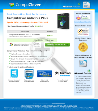 Compuclever Antivirus Plus preview. Click for more details