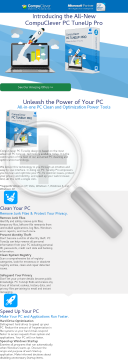 Compuclever PC Tuneup Pro preview. Click for more details