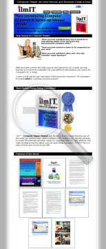 Computer Repair Manual And Business Guide Ebook preview. Click for more details