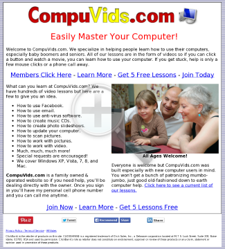 Compuvids.com - Sell To The Richest And Fastest Growing Market preview. Click for more details