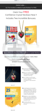 Confidence Crystal Necklace For Free preview. Click for more details