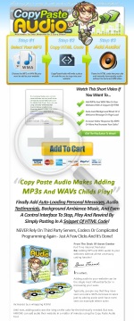 Copy And Paste Audio Generator! Add Audio To Your Site In Minutes! preview. Click for more details
