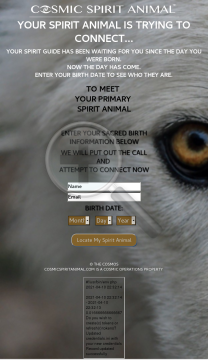 Cosmic Spirit Animal preview. Click for more details