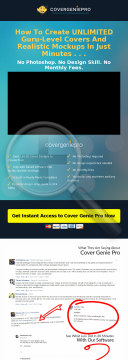 Cover Genie Pro preview. Click for more details