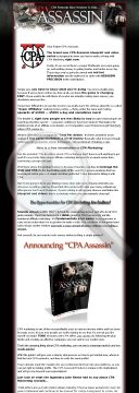 Cpa Assassin..cpa Networks Have Nowhere To Hide! preview. Click for more details