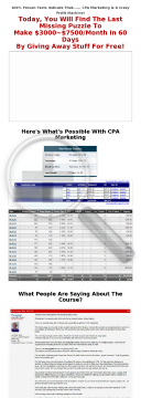 Cpa Profit Academy - 75% Commission preview. Click for more details