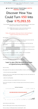 Crypto Crusher - Currency Trading System preview. Click for more details
