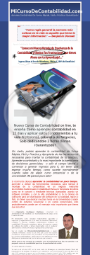 Curso De Contabilidad En Linea preview. Click for more details