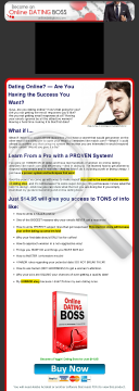 Date Like A Boss! Proven Dating Program From A Pro Dater! preview. Click for more details