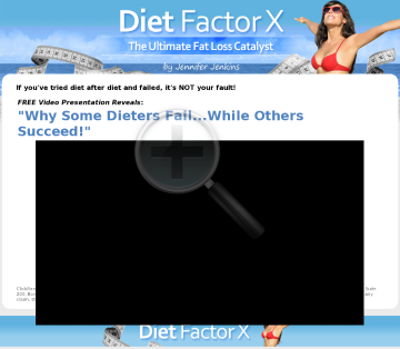 Diet Factor X - Brand New Hot Converting Offers! preview. Click for more details