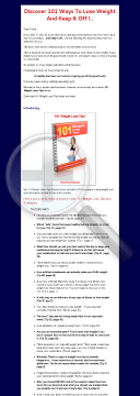 Discover 101 Ways To Lose Weight And Keep It Off preview. Click for more details