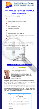 Diy Solar Water Heater - Earn Up To $36.60/sale preview. Click for more details
