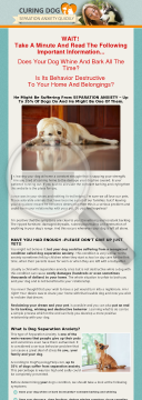 Dog Separation Anxiety Trainer preview. Click for more details