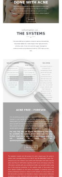 Done With Acne preview. Click for more details
