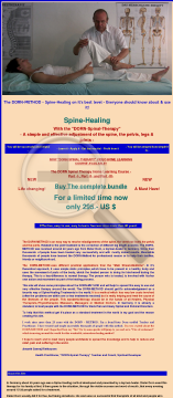 Dorn Spinal Therapy preview. Click for more details