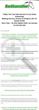 Earn 50% Recurring Commissions With Backlucrative preview. Click for more details