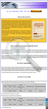 Easy And Profitable Binary Options Trading System preview. Click for more details