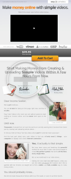 Easy Cash Videos! Killer Conversions - Easy Newbie Cash preview. Click for more details