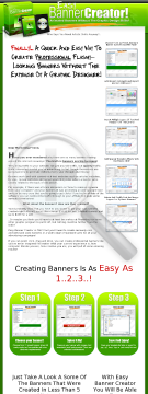 Easybannercreator.com - Make Banners For Websites And Blogs! preview. Click for more details
