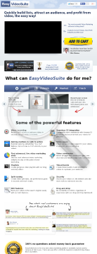 Easyvideosuite - The #1 Video Marketing Platform For Marketers preview. Click for more details