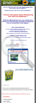 Electric Golf Cart Battery Guide preview. Click for more details