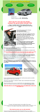 Electricity4gas - Electric Car Conversion Manual preview. Click for more details