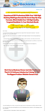 Elite SEO Backlinks - *monthly Recurring Commissions* *new To CB preview. Click for more details