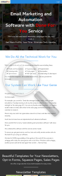 Email Marketing And Automation Software With Done-for-you Service preview. Click for more details