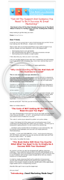 Email Marketing Made Easy preview. Click for more details