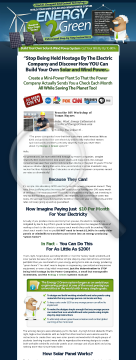 Energy2green - Wind And Solar Power System - *#1 Home Energy Program preview. Click for more details